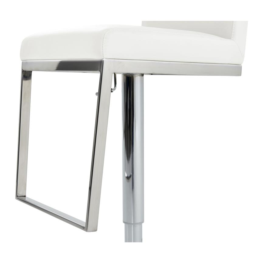 Hyde White Adjustable Stool  alternate image, 6 of 6 images.
