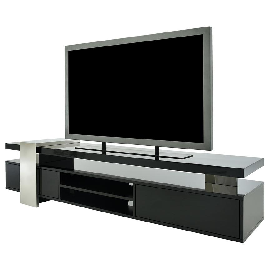Totem Black TV Stand  alternate image, 2 of 9 images.