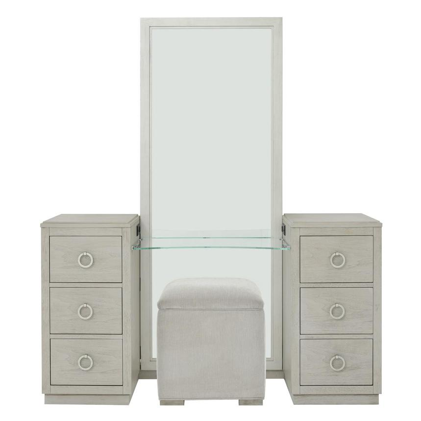 Rachael Ray S Cinema Vanity W Bench El Dorado Furniture