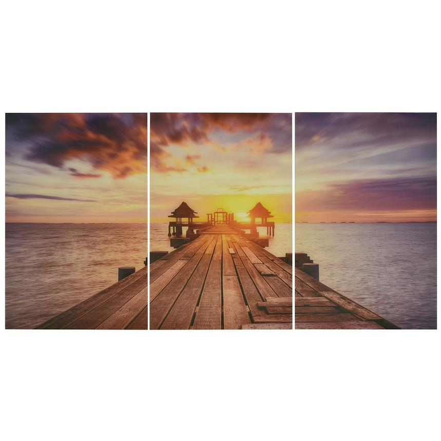 Coucher Set of 3 Acrylic Wall Art  main image, 1 of 4 images.
