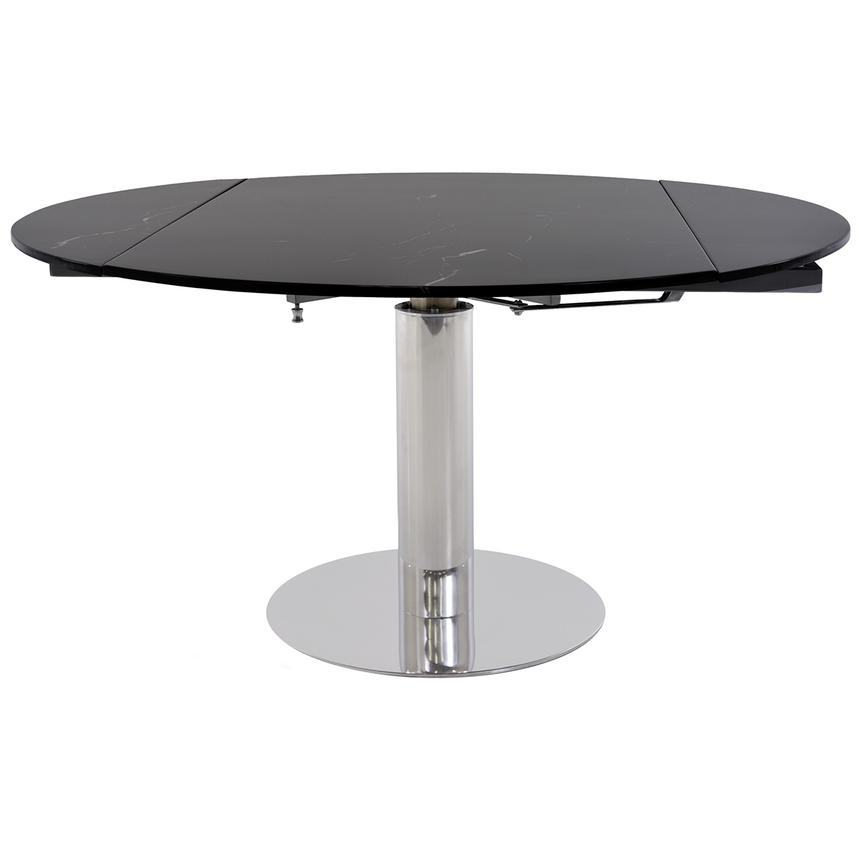 Tami Black Extendable Dining Table  main image, 1 of 4 images.