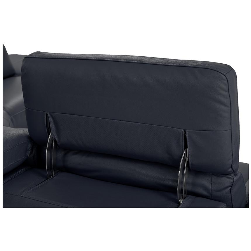 Toronto Dark Gray Power Motion Leather Sofa w/Right Chaise  alternate image, 7 of 9 images.