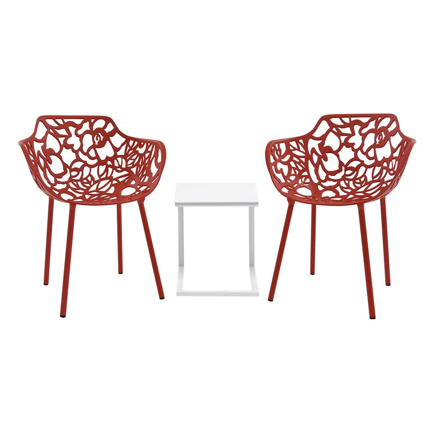 Mykonos/Rosie Red 3-Piece Patio Set  main image, 1 of 10 images.