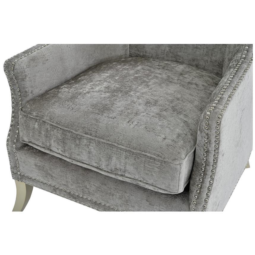 Sonia Gray Accent Chair El Dorado Furniture