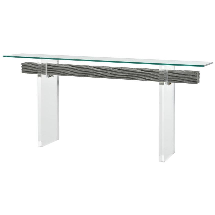 Miami Beach Gray Console Table  alternate image, 2 of 6 images.