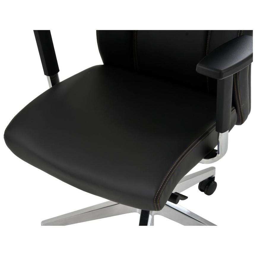 Regulo Black Low Back Desk Chair  alternate image, 7 of 8 images.