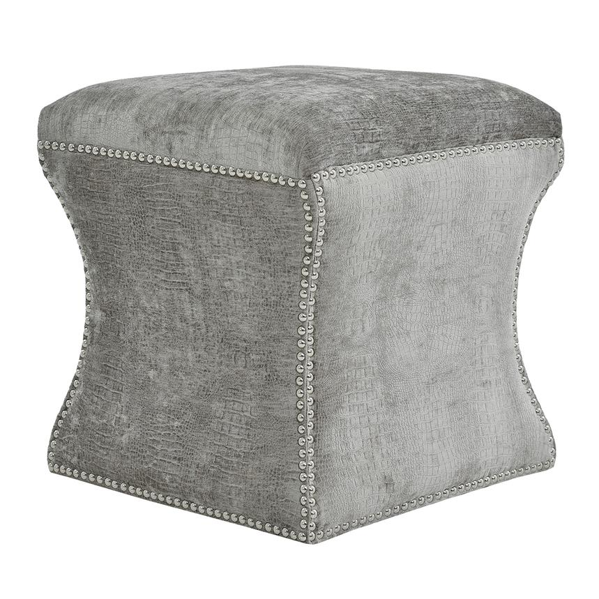 Sonia Gray Ottoman  alternate image, 2 of 4 images.