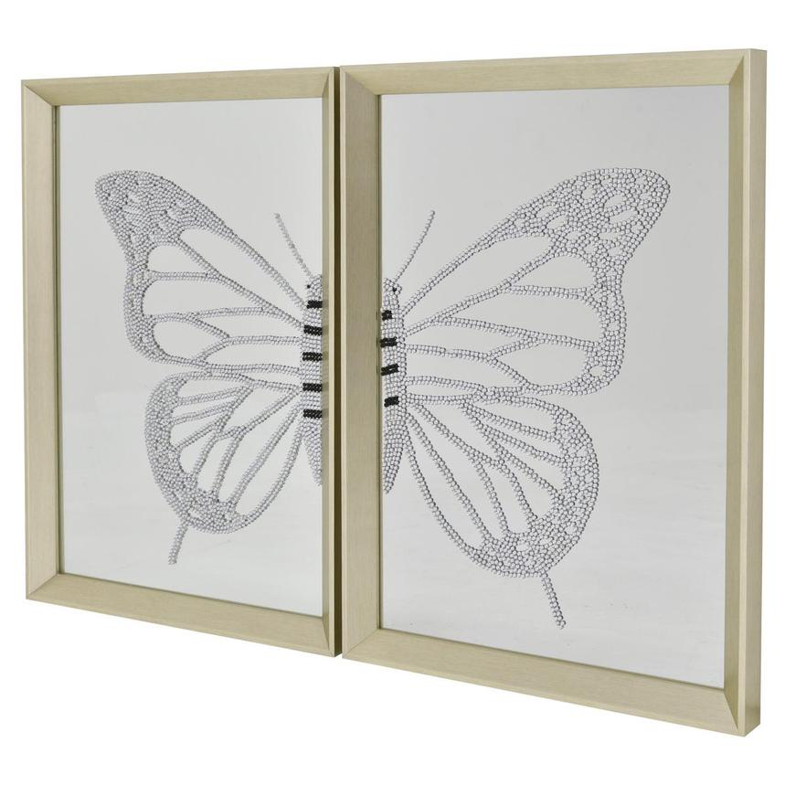 Mariposa Set of 2 Wall Decor  main image, 1 of 3 images.