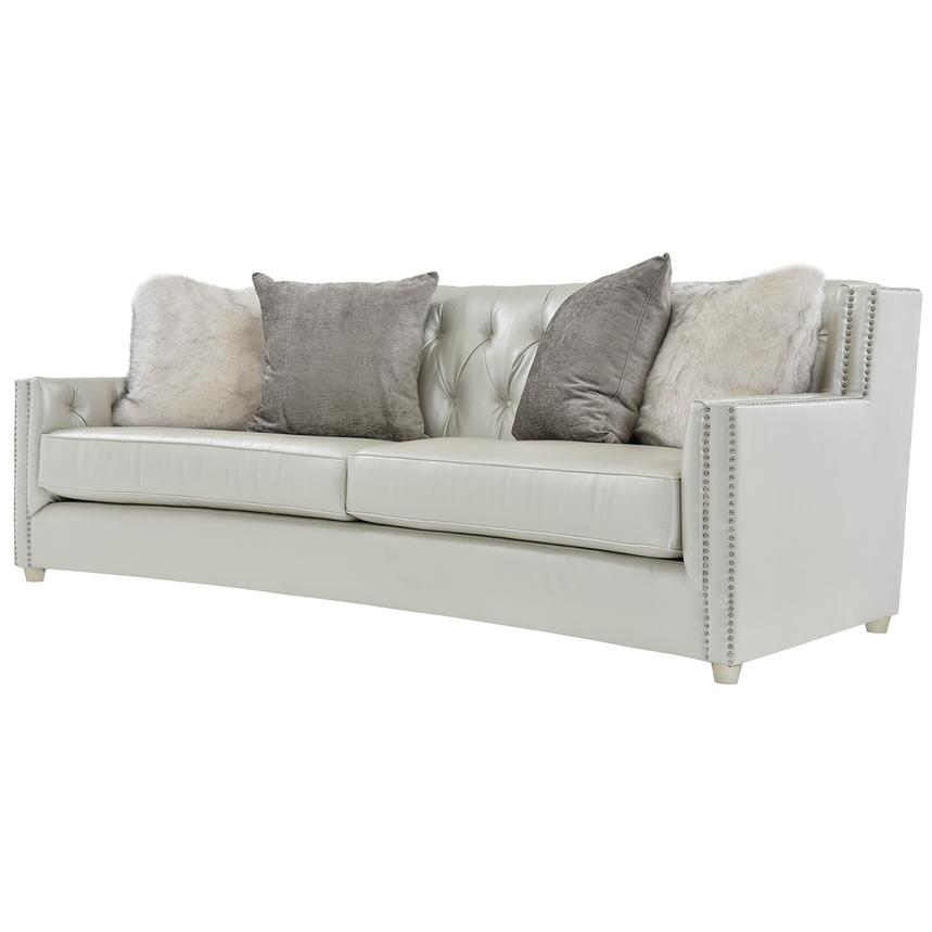 Sonia Cream Sofa  alternate image, 3 of 7 images.