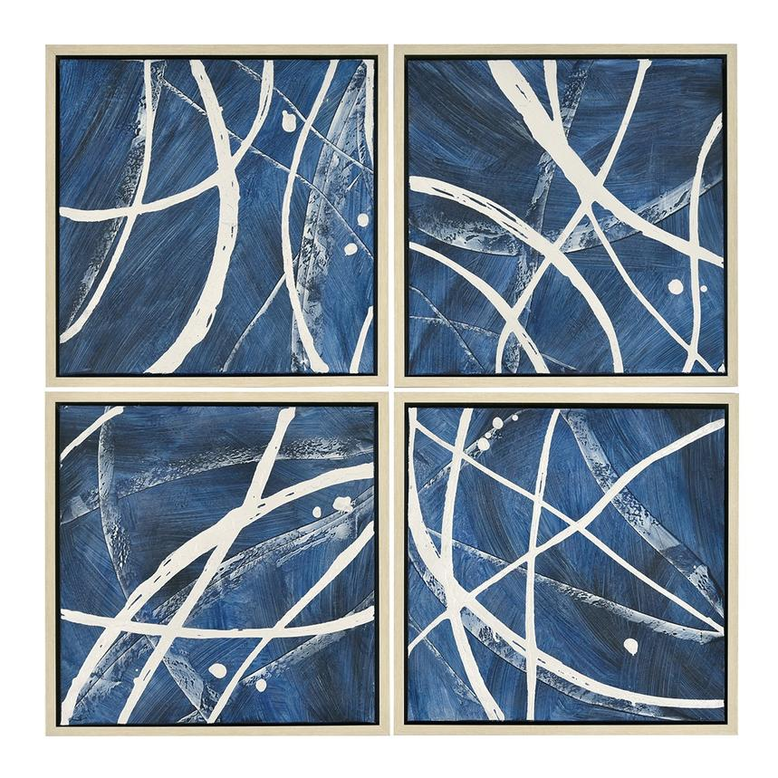 Quatre Canvas Wall Art Set of 4  main image, 1 of 4 images.