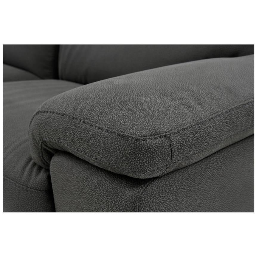 Karly Dark Gray Power Reclining Sectional  alternate image, 5 of 8 images.