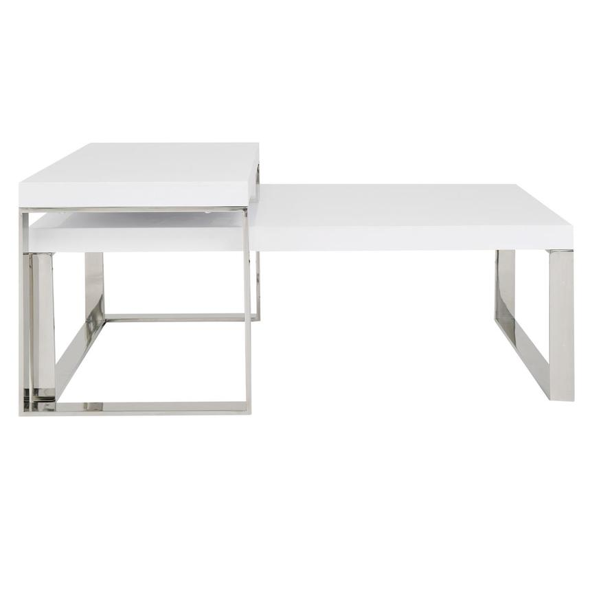 Palomari White Coffee Table Set of 2  main image, 1 of 5 images.