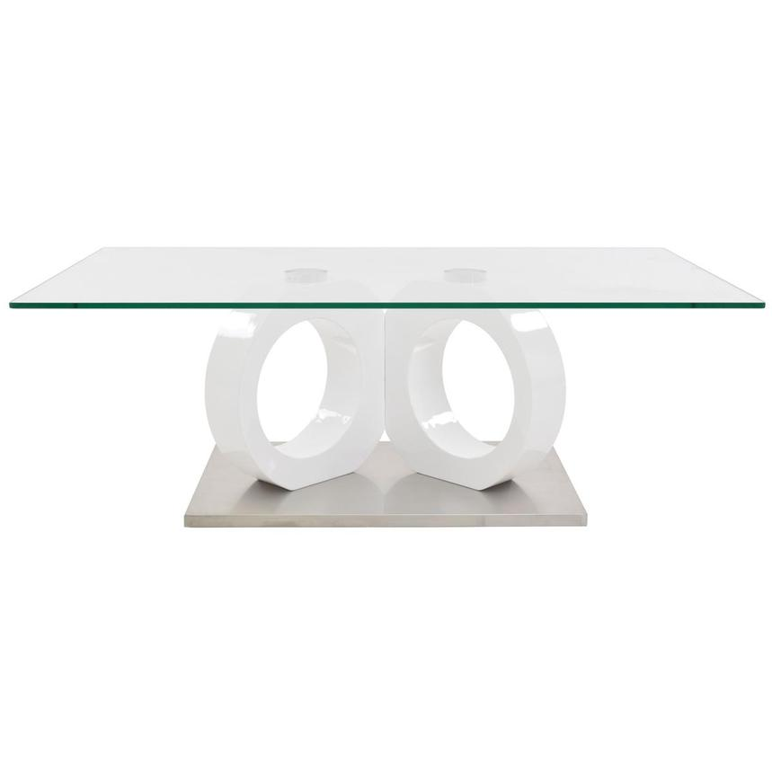 Stop 36 White Coffee Table  main image, 1 of 5 images.