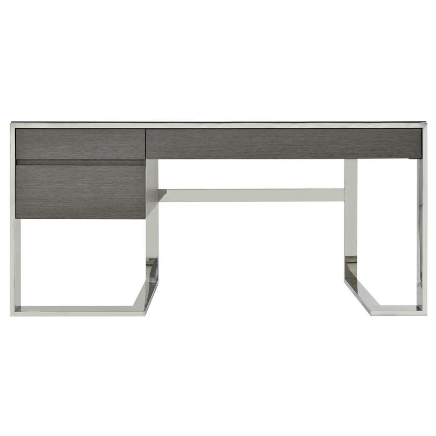 Calypso Matte Gray Desk  main image, 1 of 7 images.