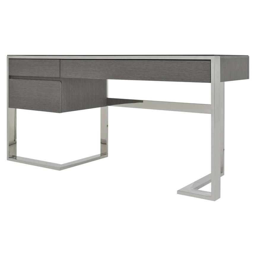 Calypso Matte Gray Desk  alternate image, 2 of 7 images.