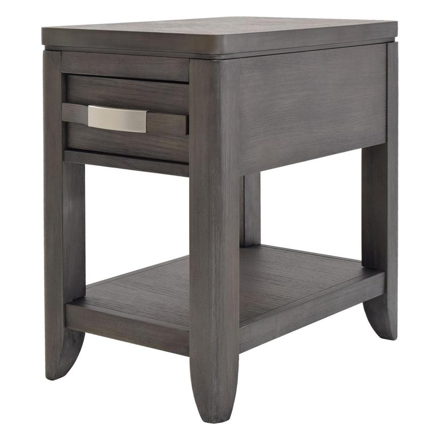 Contour Gray Side Table  alternate image, 2 of 8 images.