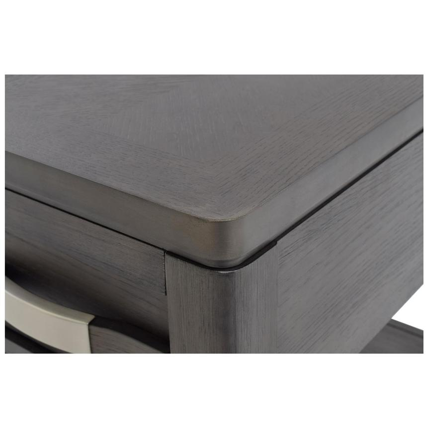 Contour Gray Side Table  alternate image, 6 of 8 images.