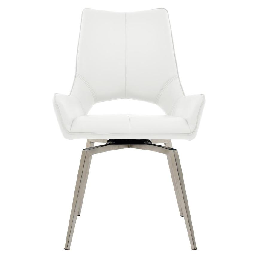 Kalia White Side Chair  main image, 1 of 6 images.