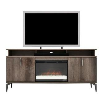 Matera Electric Fireplace w/Speakers