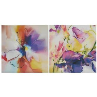 Violet Set of 2 Acrylic Wall Art