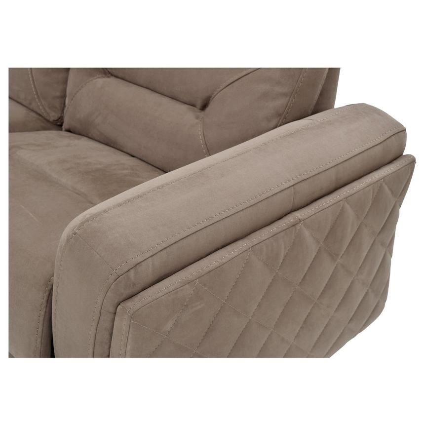 Kim Brown Power Motion Sofa w/Right & Left Recliners  alternate image, 7 of 7 images.
