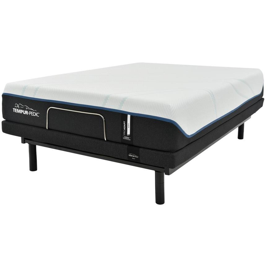 ProAdapt Soft Full Memory Foam Mattress w/Ergo® Powered Base by Tempur-Pedic  alternate image, 2 of 7 images.