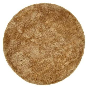 Cosmo Brown 8' Round Area Rug