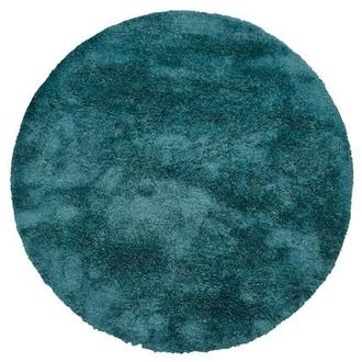 Cosmo Blue 8' Round Area Rug