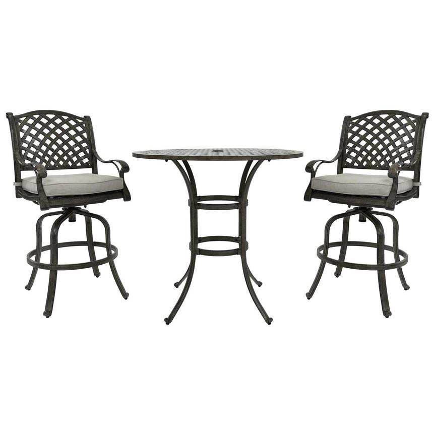 Castle Rock Gray 3-Piece Patio Set  main image, 1 of 11 images.