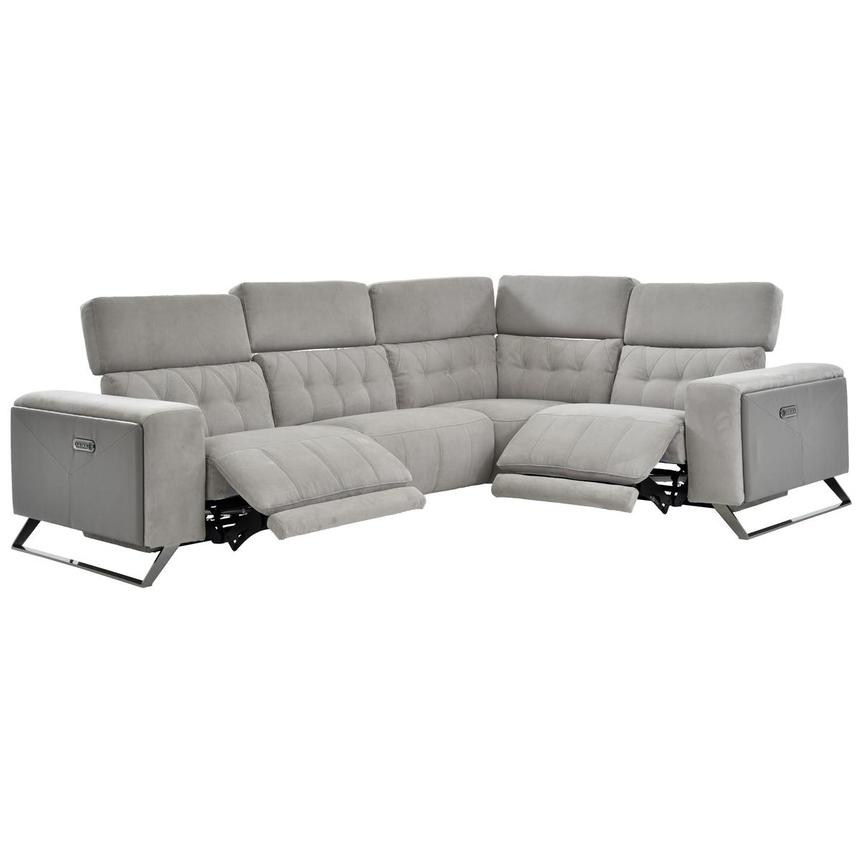 Elise Power Reclining Sectional  alternate image, 7 of 11 images.