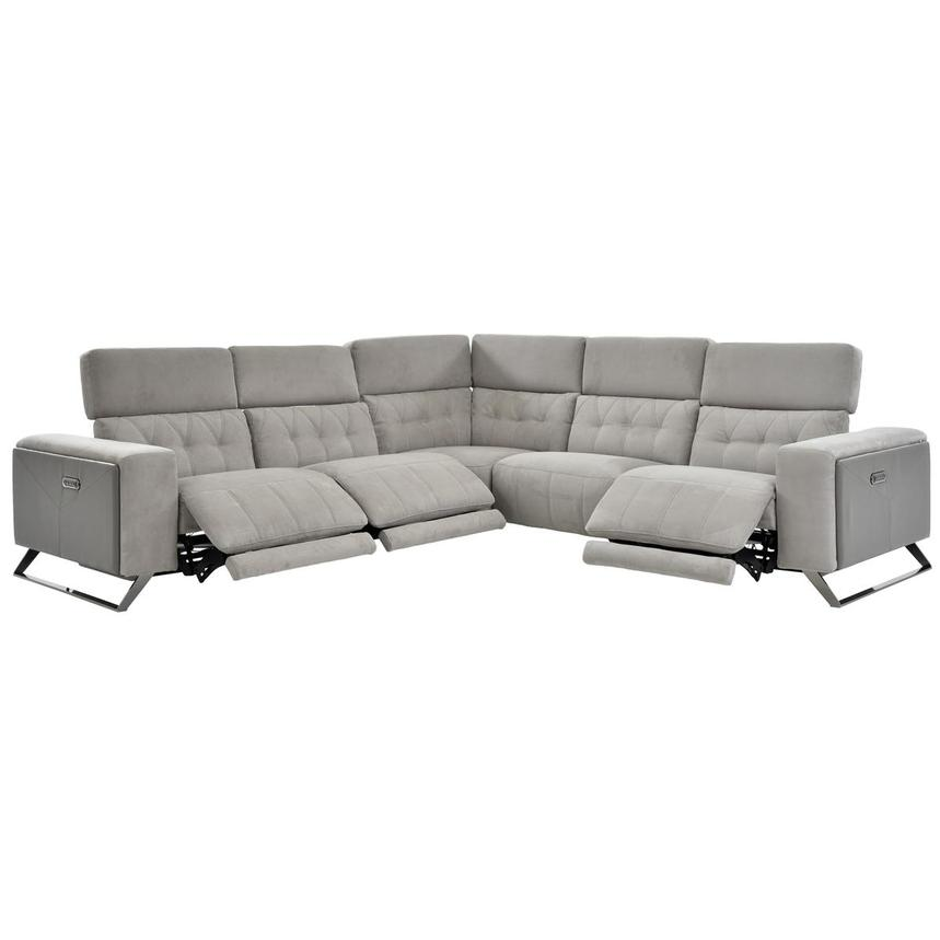 Elise Power Motion Sofa w/Right & Left Recliners  alternate image, 2 of 6 images.