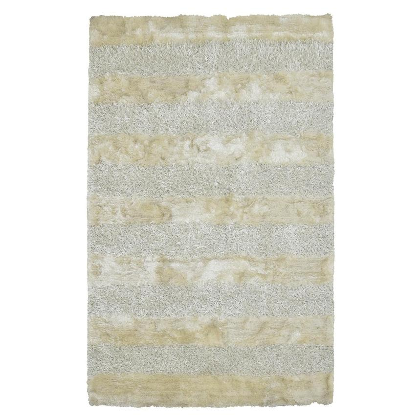 Fusion White 5 X 8 Area Rug Main Image 1 Of 3 Images