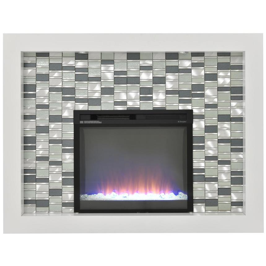 Crystal Faux Fireplace w/Remote Control  main image, 1 of 7 images.
