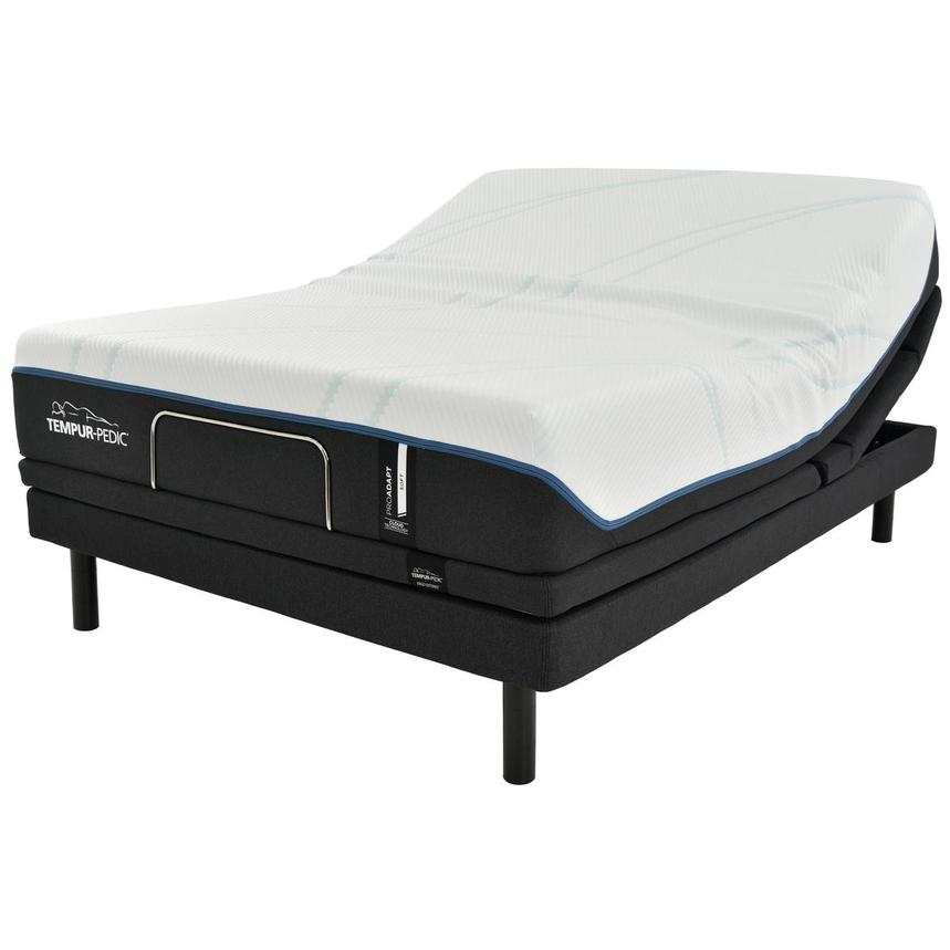 ProAdapt Soft Queen Mattress w/Ergo® Extend Powered Base by Tempur-Pedic  main image, 1 of 7 images.