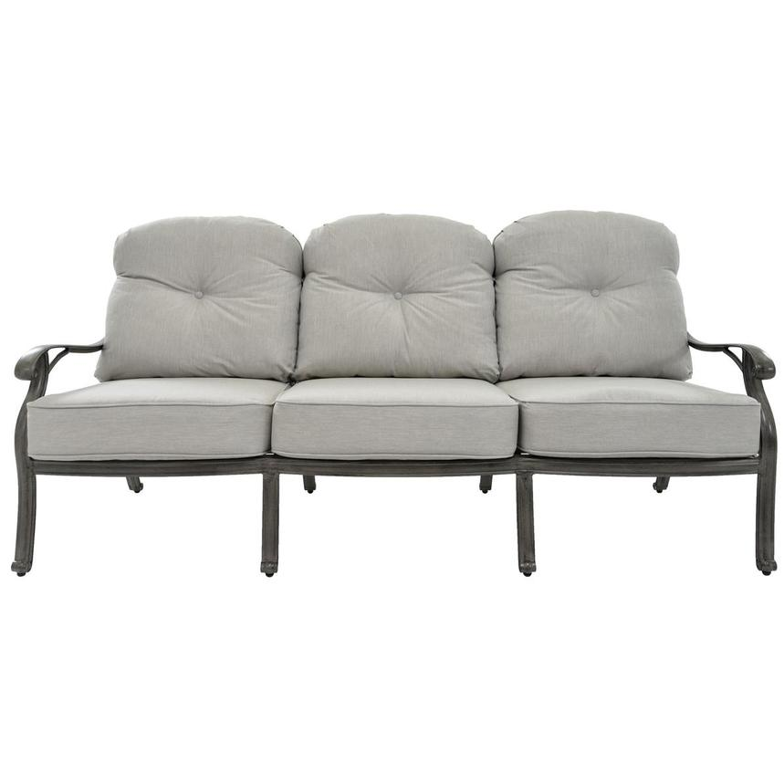 Castle Rock Gray Sofa  main image, 1 of 5 images.
