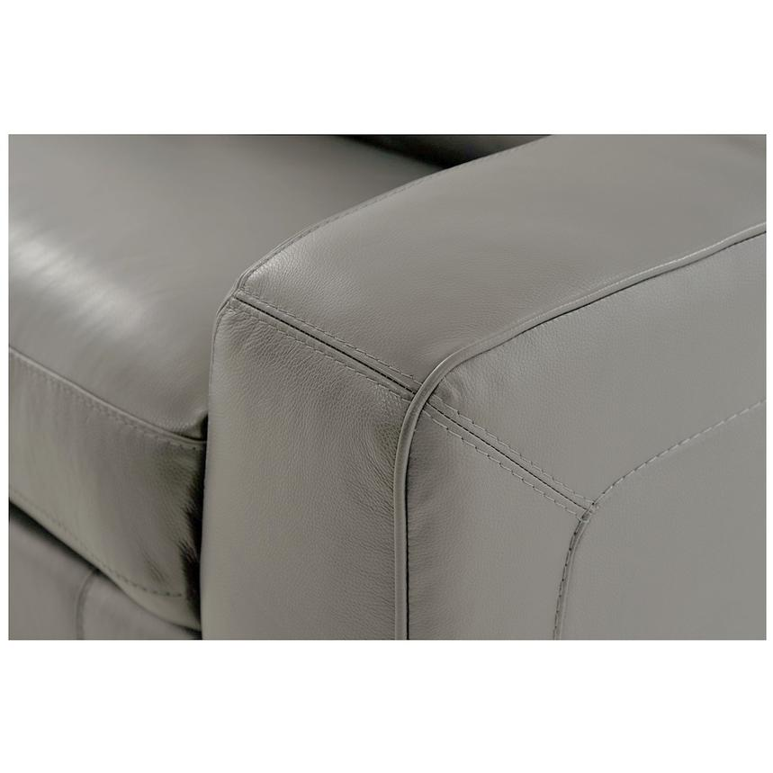 Jay Gray Power Motion Leather Sofa  alternate image, 6 of 7 images.