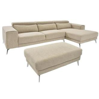 Tyler Sofa w/Right Chaise & Ottoman