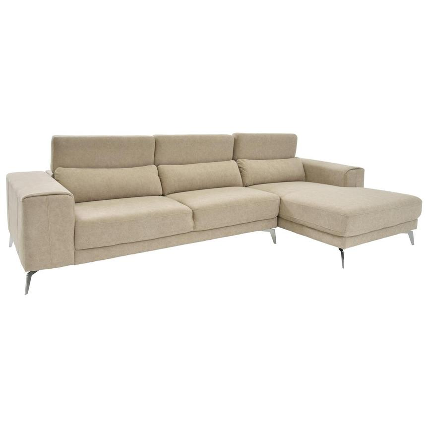 Tyler Sofa w/Right Chaise  alternate image, 2 of 6 images.