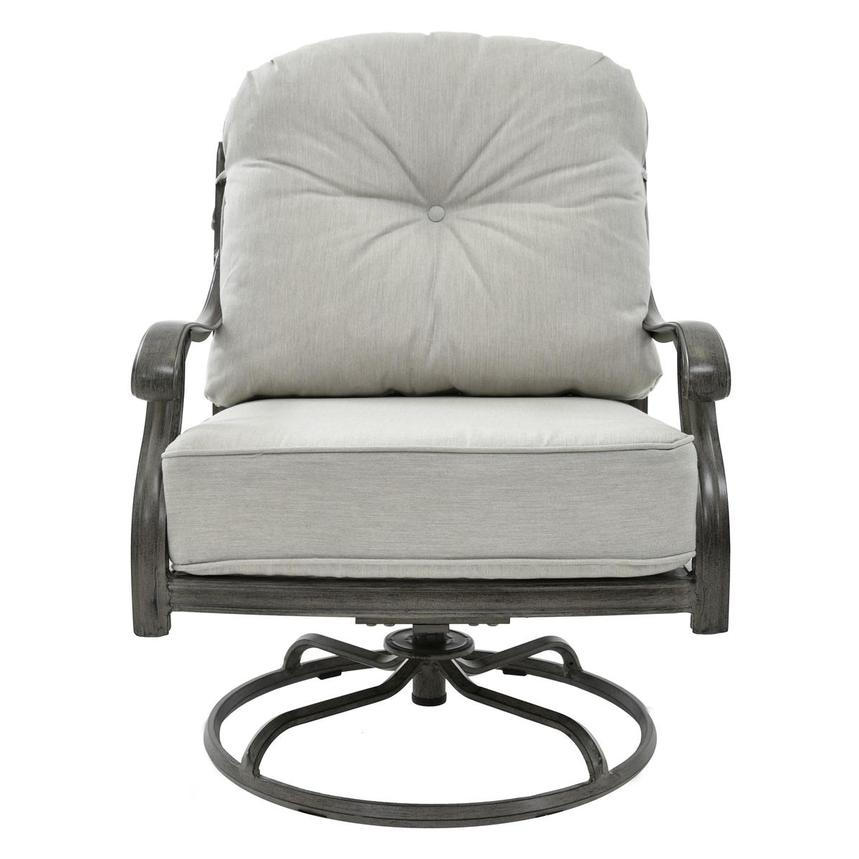Castle Rock Gray Swivel Chair  main image, 1 of 6 images.