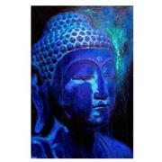Blue Buddha Acrylic Wall Art  main image, 1 of 2 images.