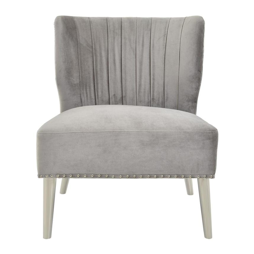 Palermo Gray Accent Chair  main image, 1 of 6 images.