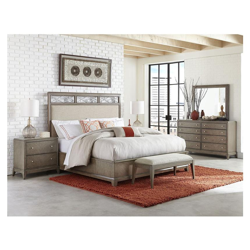 Annabelle Queen Platform Bed  alternate image, 2 of 6 images.