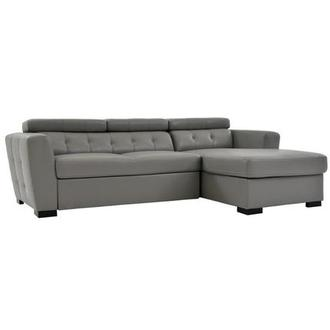 Reeve Gray Sleeper w/Right Chaise