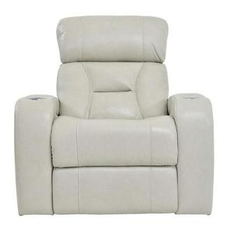 Gio Cream Leather Power Recliner
