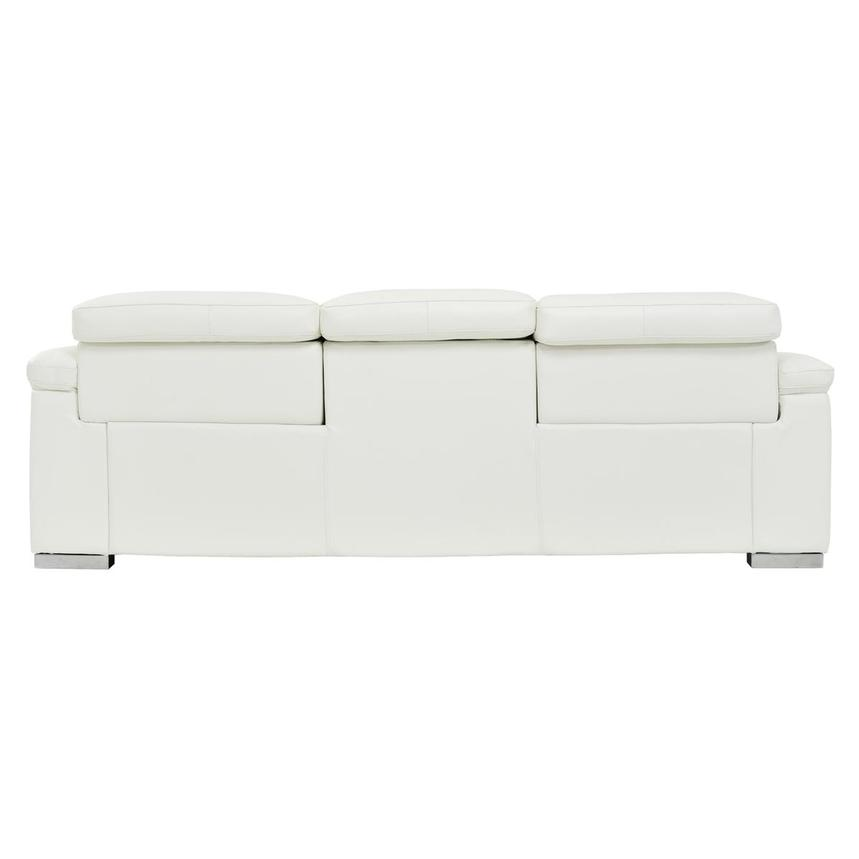 Charlie White Leather Power Reclining Sofa  alternate image, 7 of 10 images.