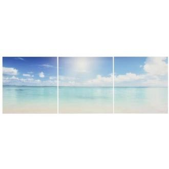 Plage Set of 3 Acrylic Wall Art