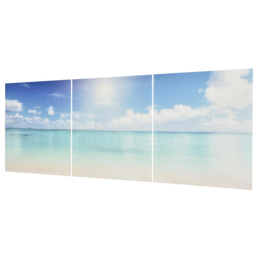 Plage Set of 3 Acrylic Wall Art  alternate image, 2 of 2 images.