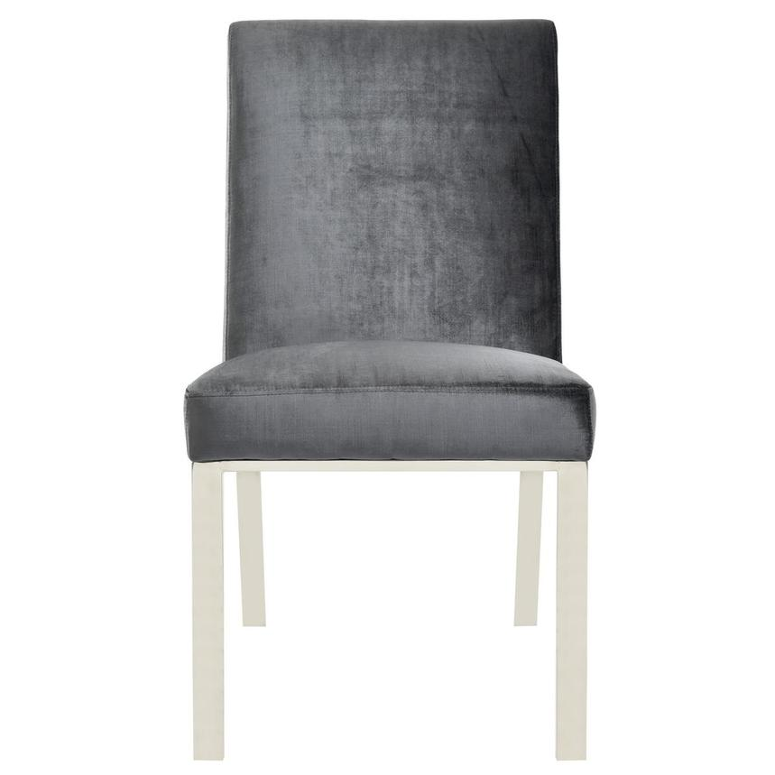 Wellington Dark Gray Side Chair  main image, 1 of 6 images.