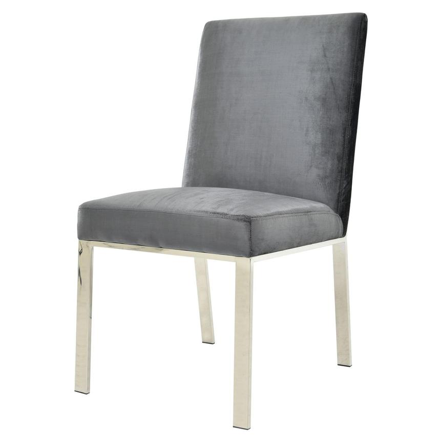 Wellington Dark Gray Side Chair  alternate image, 2 of 6 images.