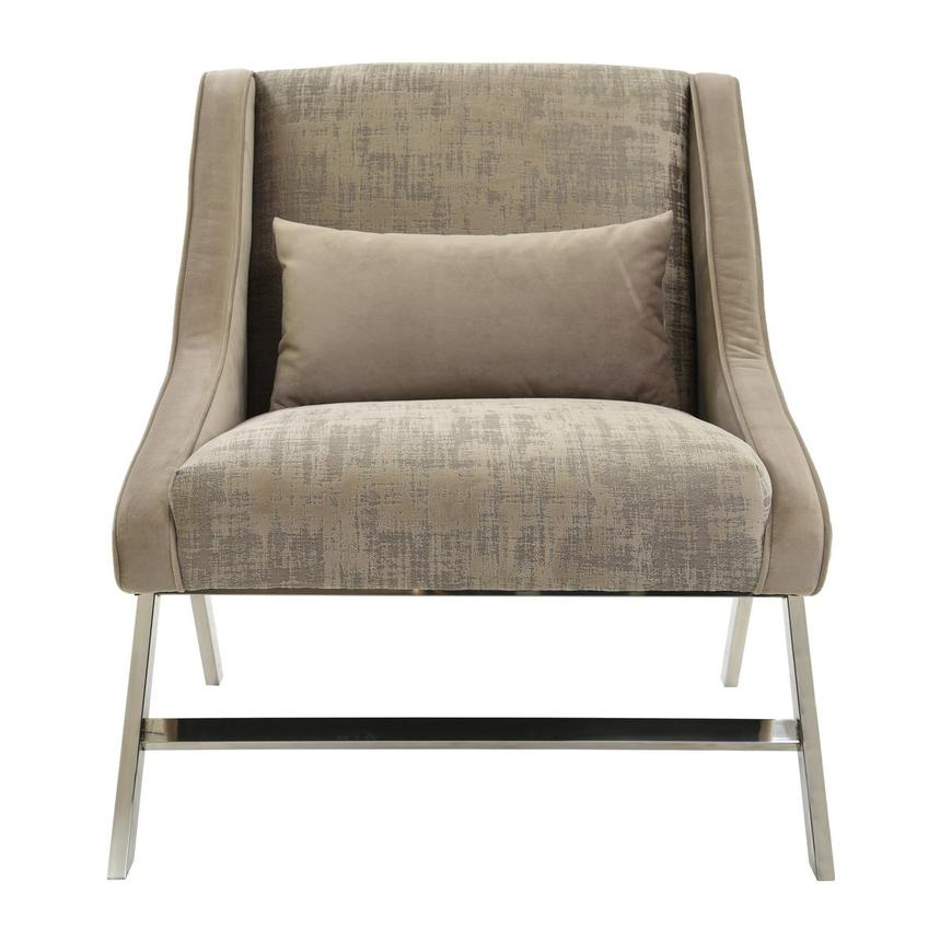 Aliany Beige Accent Chair  main image, 1 of 5 images.